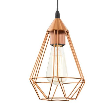 EGLO Vintage pendant lamp TARBES 94196