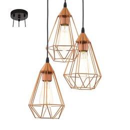 EGLO Lampe à suspension Vintage TARBES 94196