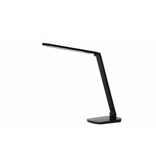 Lucide VARIO LED - Bureaulamp - LED Dimb. - 1x8W 2700K - Zwart - 24656/10/30