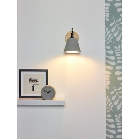 Lucide Wall lamp POSSIO taupe 03213/01/41