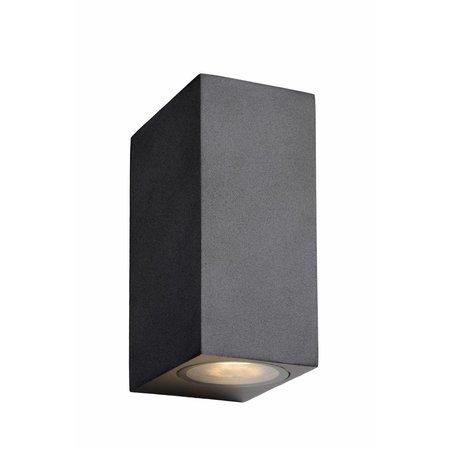 Lucide Wandlamp ZORA-LED Buiten 2x5W