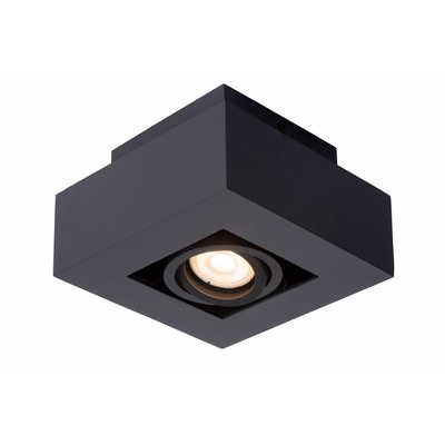 Lucide LED Ceiling Spot Xirax black 09119/05/30