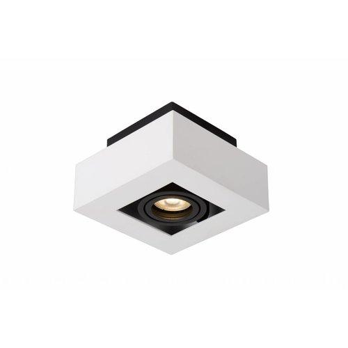 Lucide XIRAX - Ceiling spotlight - LED Dim to warm - GU10 - 1x5W 2200K / 3000K - White - 09119/06/31
