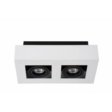Lucide LED Plafondspot Xirax wit 09119/10/31