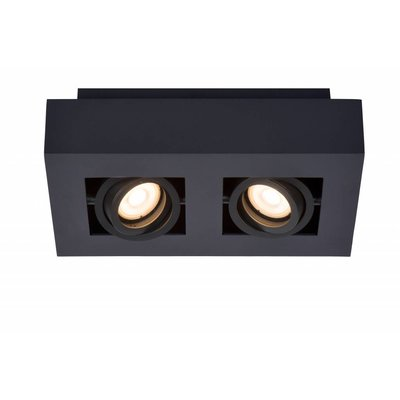 Lucide LED Ceiling Spot Xirax black 09119/10/30