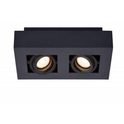 Lucide Spot de plafond LED Xirax noir 09119/10/30