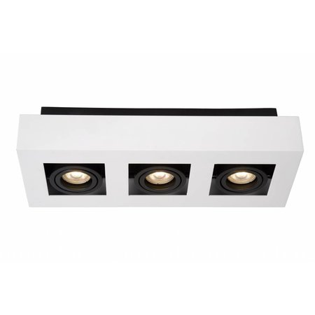 Lucide LED Ceiling Spot Xirax white 09119/15/31