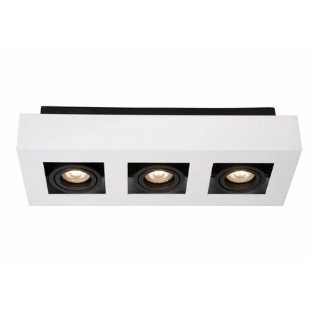 Lucide LED Plafondspot Xirax wit 09119/15/31