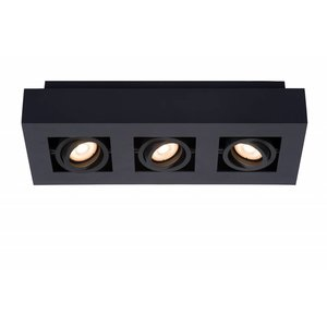 Lucide LED Ceiling Spot Xirax black 09119/15/30