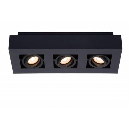 Lucide LED Plafondspot Xirax zwart 09119/15/30