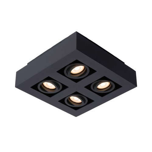 Lucide LED Ceiling Spot Xirax black 09119/20/30