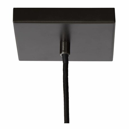 Lucide Thor hanging lamp 73403/04/18 dark gray iron
