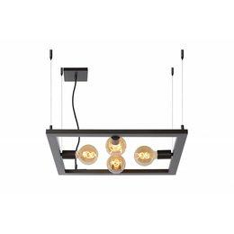Lucide Thor hanglamp  73403/04/15 donkergrijs ijzer