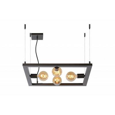 Lucide Thor hanglamp 73403/04/18 donkergrijs ijzer