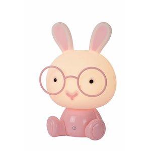 Lucide DODO Rabbit - Tafellamp Kinderkamer - LED Dimb. - 3 StepDim - Roze - 71591/03/66