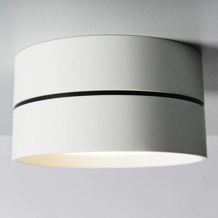 Absinthe Lighting LED Outdoor plafondspot Luna M Wit IP54