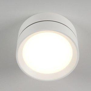 Absinthe Plafonnier LED d'extérieur Luna M Blanc IP54