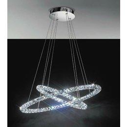 EGLO TONERIA design LED ceiling fixture - two light rings 93 946
