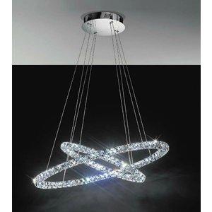 EGLO TONERIA conception LED plafonnier - deux anneaux lumineux 93 946