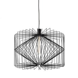 Wever & Ducré Led Hanglamp Wiro 6.5 Zwart 2095E0B0