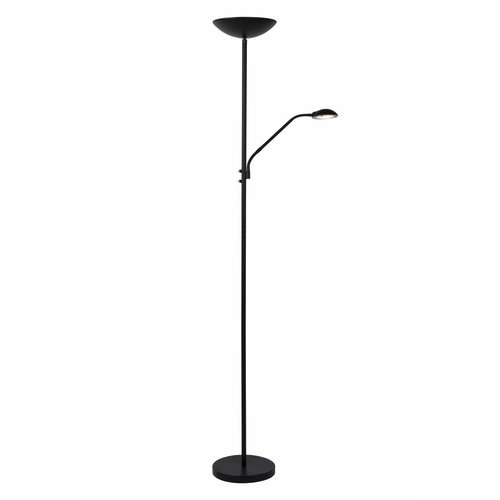 Lucide ZENITH - Reading lamp - Ø 25.4 cm - LED Dim. - 3000K - Black - 19791/24/30