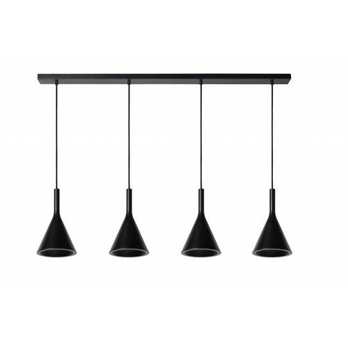 Lucide GIPSY hanging lamp black 35410/04/30