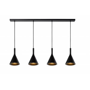 Lucide GIPSY hanging lamp black 35410/04/30