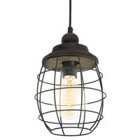 Vintage design 49219 suspended luminaire