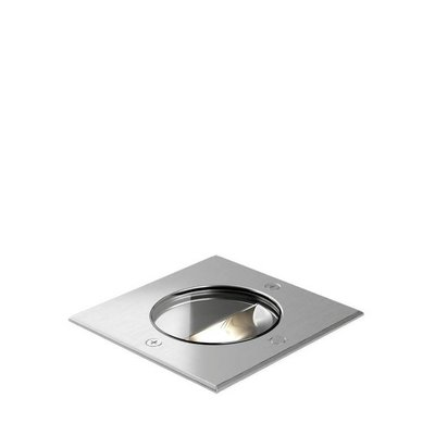 Wever & Ducré LED ground spotlight CHART ASYM 1.2 INOX