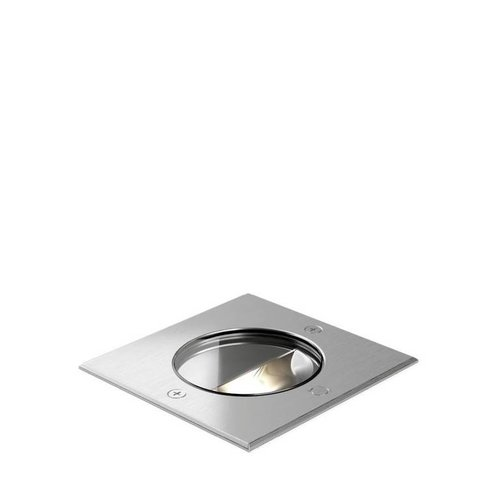 Wever & Ducré LED ground spotlight CHART ASYM 1.2 INOX
