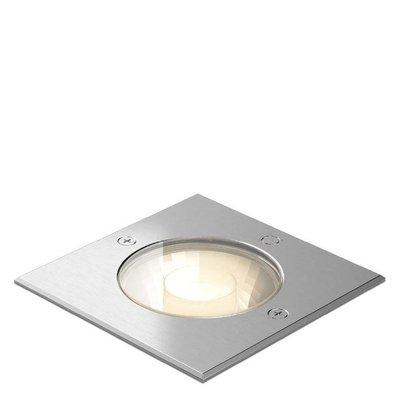 Wever & Ducré LED ground spotlight CHART 1.6 INOX