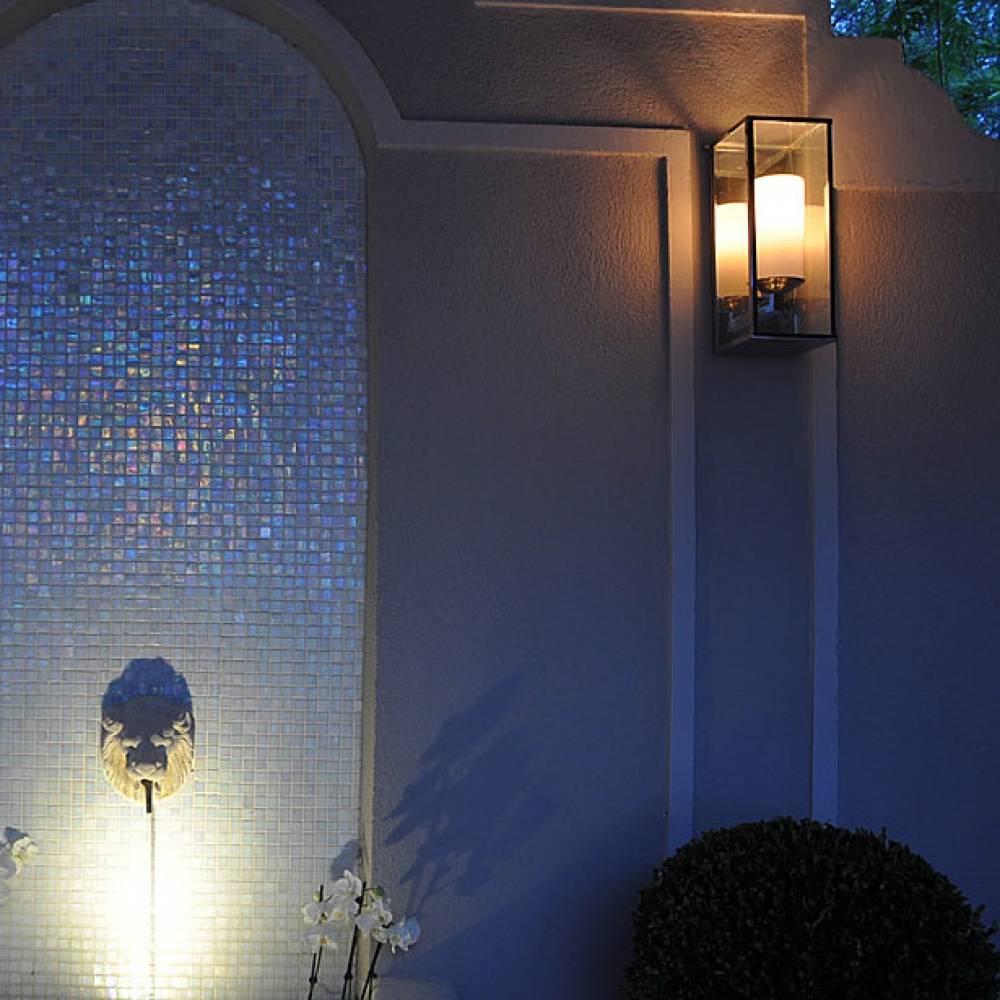 authentage verlichting landelijke led wandlamp bellefeu vitrine 1 l dynamic outdoor