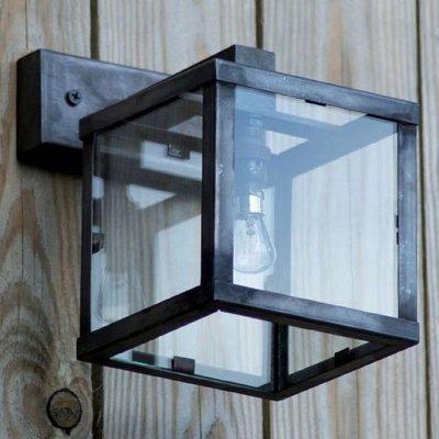 Authentage verlichting Landelijke Wandlamp Vitrine Petite 1L