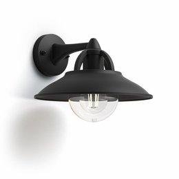 Philips Outdoor wandlamp MyGarden Cormorant Zwart