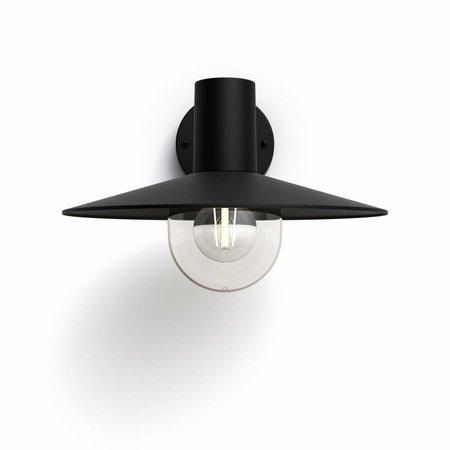 Philips Outdoor wall lamp MyGarden Cormorant Black - Copy