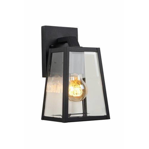 Lucide MATSLOT - Wall lamp Outdoor - 1xE27 - IP23 - Black - 29828/01/30