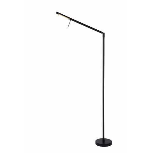 Lucide BERGAMO - Reading lamp - LED Dim. - 1x6W 3000K - Black - 12719/06/30