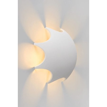 Lucide Wall lamp CAPSUL Outdoor white 17285/04/31