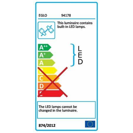 EGLO LED wall / Ceiling Spot Montale 4-light 94178