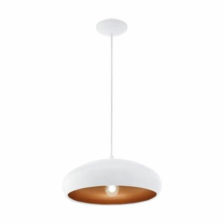 EGLO Vintage Pendant lamp Mogano Ø40cm