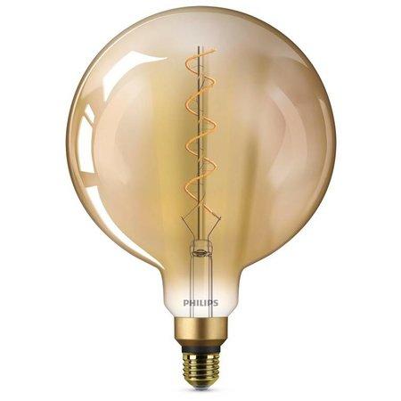 Philips E27 Filament LED lamp Giant Globe Gold