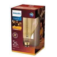 E27 Filament LED lamp Giant Globe Splash Goud