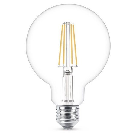 Philips E27 Retro Filament LED lamp G93 7-60W