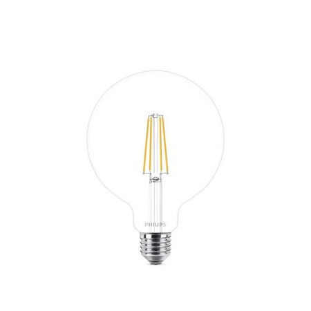 Philips E27 Retro Filament LED bulb G120 DIM 8-60W