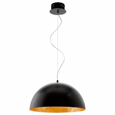 EGLO Vintage LED pendant lamp GAETANO black / gold 94936