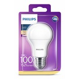 Philips LED lamp MAT E27 13-100W warm wit