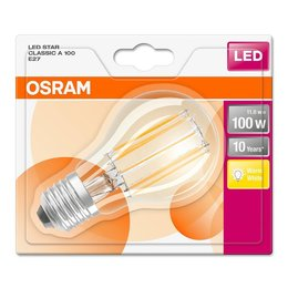 OSRAM E27 Retro Filament LED STAR lamp 11-100W warm white