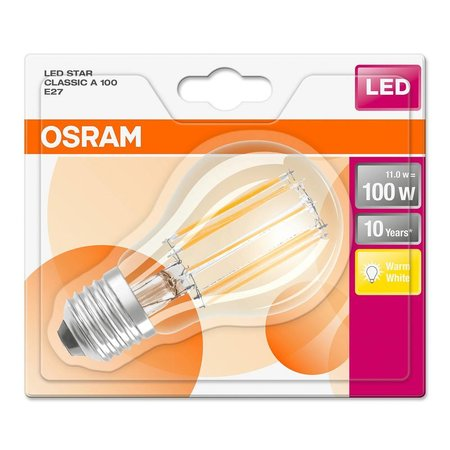 OSRAM E27 Retro Filament LED STAR lamp 11-100W warm white