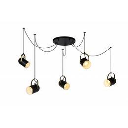 Lucide SWAPP LED hanglamp zwart 45466/05/30
