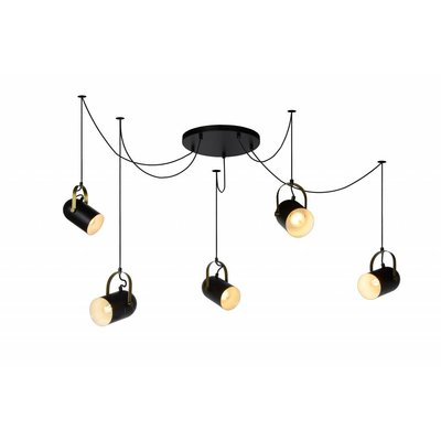 Lucide SWAPP LED hanging lamp black 45466/05/30